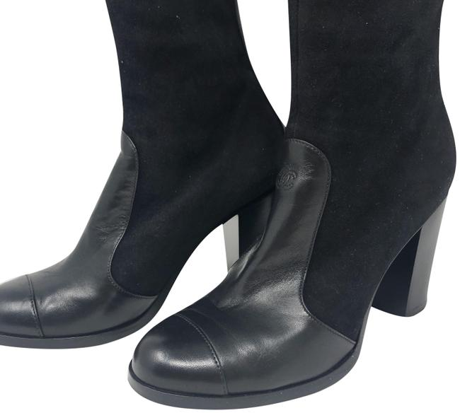 Item - Black Cc Boots/Booties Size EU 39 (Approx. US 9) Wide (C, D)