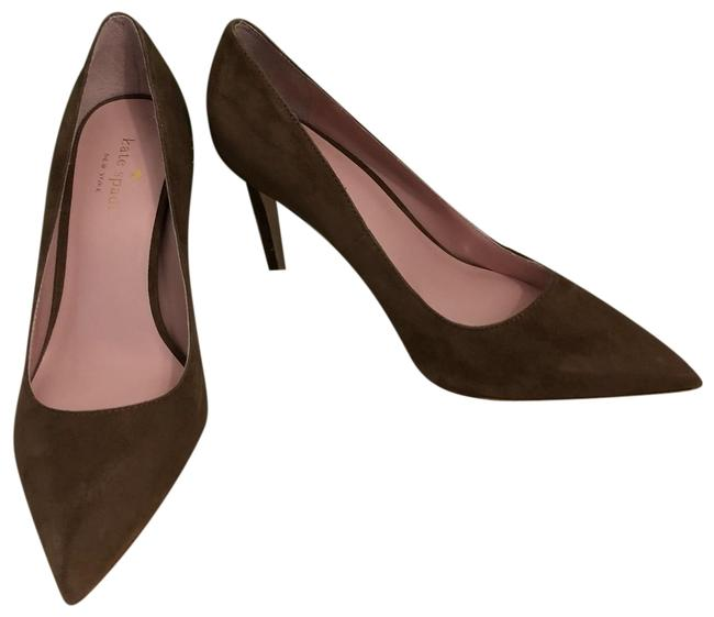 Kate Spade Taupe Suede New New York - Vivian Pumps Size US 7 Regular (M, B) Kate Spade Taupe Suede New New York - Vivian Pumps Size US 7 Regular (M, B) Image 1