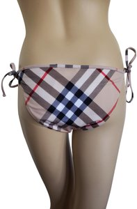 Burberry Black Burberry Nova Check print bikini swimsuit bottom L sz