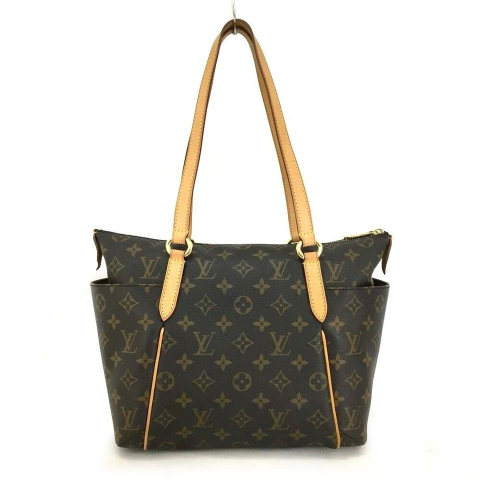 6562875e47dc Louis Vuitton Totally Monogram Tote Brown Shoulder Bag - Tradesy