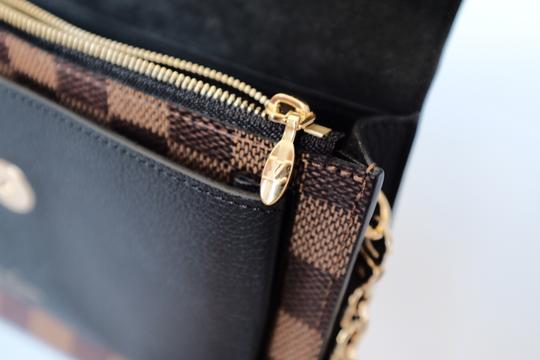 Louis Vuitton Lv Damierebene Leather Cross Body Bag Image 1