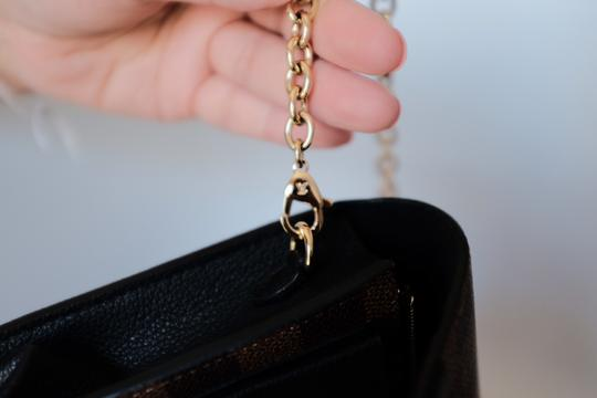 Louis Vuitton Lv Damierebene Leather Cross Body Bag Image 2