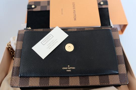 Louis Vuitton Lv Damierebene Leather Cross Body Bag Image 7