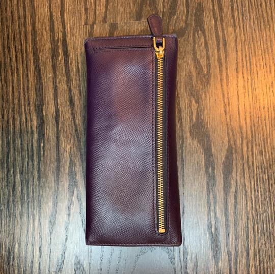 Prada Prada Saffiano Leather Flap Wallet Image 2