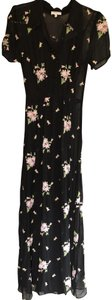 Ghost Embroidered Floral Anthro Dress