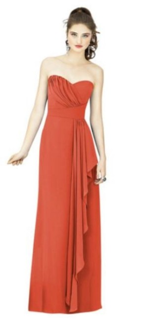 Item - Spice Nu-georgette 8119 Traditional Bridesmaid/Mob Dress Size 10 (M)
