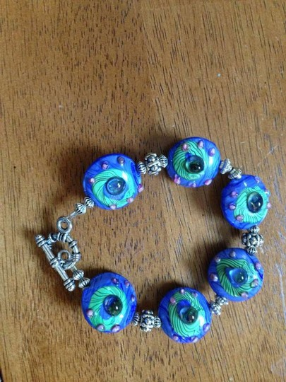 Silpada Blue Beaded Bracelet