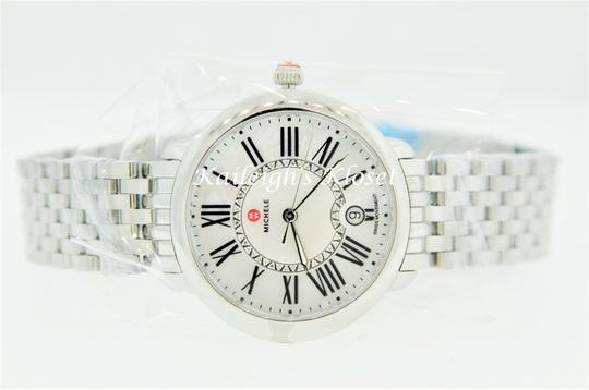 Michele Serein 16 Mid Stainless Steel MOP Diamond Dial MWW21B000009 Image 10