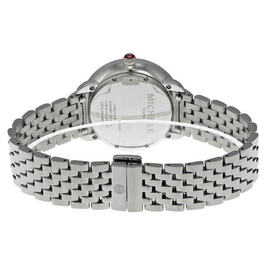 Michele Serein 16 Mid Stainless Steel MOP Diamond Dial MWW21B000009 Image 3