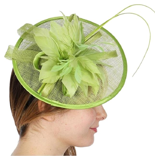 Item - Green New Cocktail Formal Hat