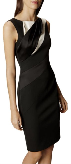 Item - Diagonal Seam Pencil Mid-length Formal Dress Size 4 (S)