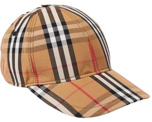 6c7d495b7d1 Burberry Checked Cotton-canvas Baseball Cap M Hat