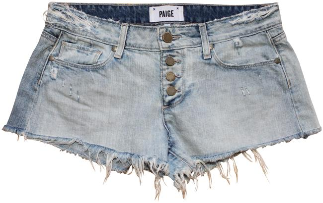 Item - Blue Distressed Denim Shorts Size 0 (XS, 25)