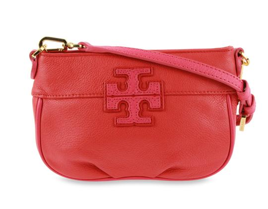 2a142a8c0a2b Tory Burch T Stacked Small Poppy Red   Multiple Leather Cross Body ...