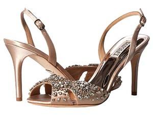 Badgley Mischka Latte Paula Sandals Size US 9 Regular (M, B)