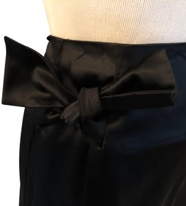 Tara Jarmon Lined Bow Evening Skirt Black