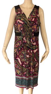 Pink and black Maxi Dress by Maggy London