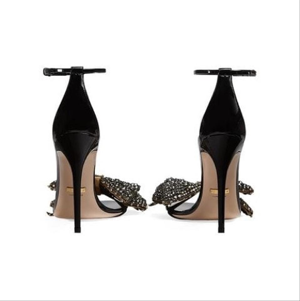 4fcfeb5a5a8c3 Gucci Crystal Bow Removable Patent Leather Sandals Size EU 35.5 (Approx. US  5.5) Regular (M, B) - Tradesy