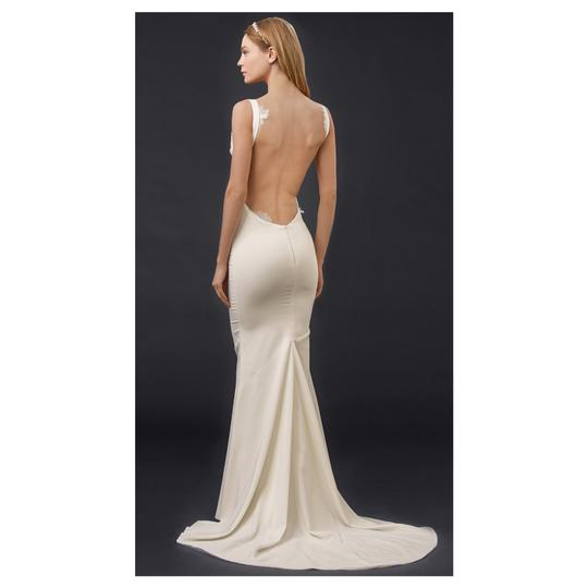 Katie May Barcelona Low Back Gown Modern Wedding Dress Size 8 (M) Image 1