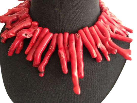 Other Vinatge Red Coral & Sterling Silver