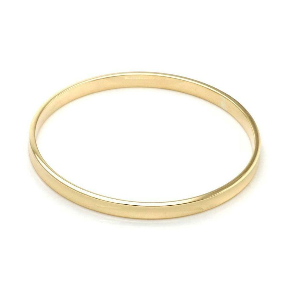 8634dcc41a56d Tiffany & Co. #59772 Concave Style 1837 Collection 18k Yellow Gold Bangle  Bracelet