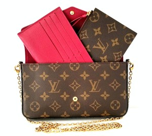 bd282f499a43 Louis Vuitton Monogram Felicie Inserts Sold Out Cross Body Bag