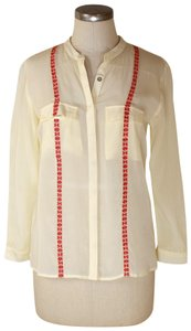 Patterson J. Kincaid Button Down Shirt cream