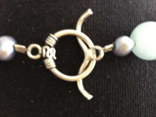 Other Agate Stone, Sterling Silver, Fresh Water Pearl