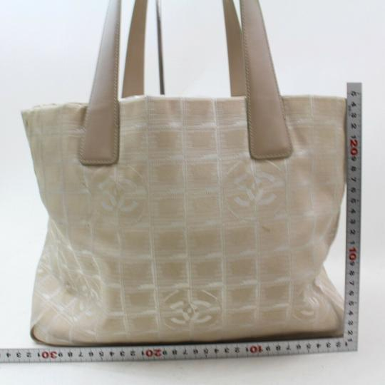 Chanel New Line Shopper Neverfull Tote in Beige Image 5