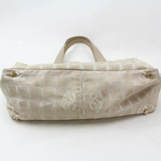Chanel New Line Shopper Neverfull Tote in Beige Image 6