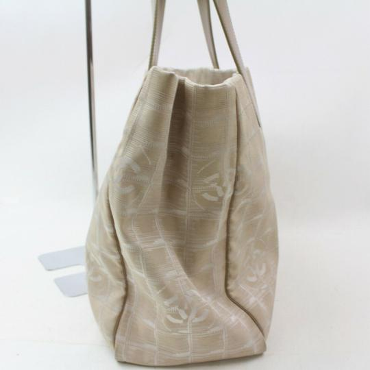 Chanel New Line Shopper Neverfull Tote in Beige Image 7