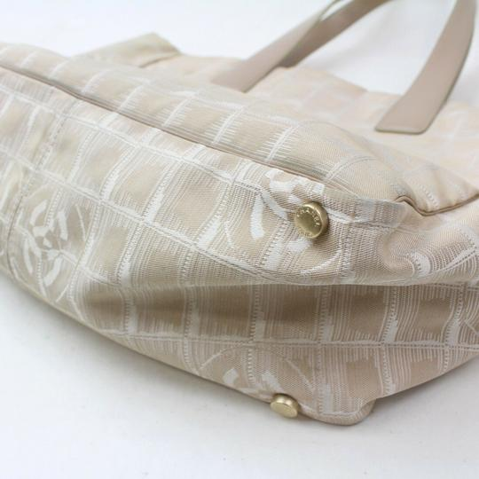 Chanel New Line Shopper Neverfull Tote in Beige Image 8