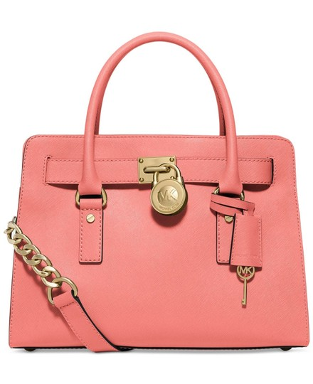 Preload https://img-static.tradesy.com/item/25090130/michael-kors-hamilton-east-west-medium-new-with-tags-pink-grapefruitgold-hardware-saffiano-leather-s-0-0-540-540.jpg