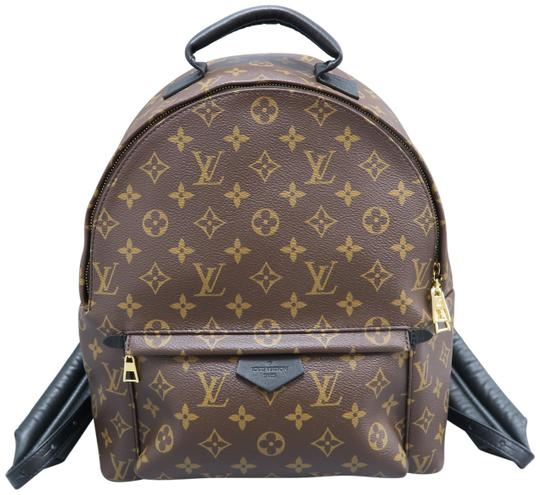 6e5852a8f04a Louis Vuitton Palm Springs Mm Monogram Brown Canvas Backpack - Tradesy