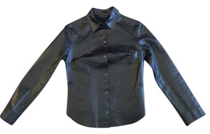 Express Top Black Leather