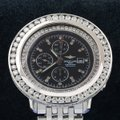 Breitling Breitling Navitimer World A24322 46MM Black Diamond Dial With 10.80 CT Image 1