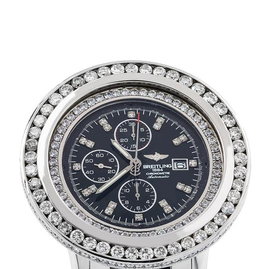 Breitling Breitling Navitimer World A24322 46MM Black Diamond Dial With 10.80 CT Image 2