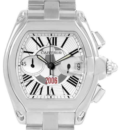 Preload https://img-static.tradesy.com/item/25090572/cartier-silver-roadster-fifa-world-cup-germany-2006-limited-150-w62044x-watch-0-1-540-540.jpg