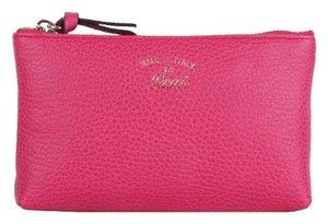 Gucci Gucci Women's Blossom Pink Zip Pouch Cosmetic Bag 368880
