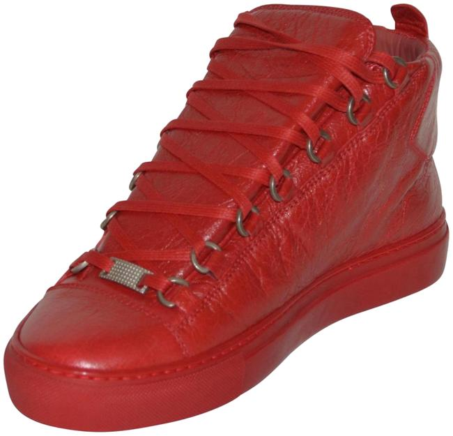 Item - Red New Hitop Leather Eu 39 Mens Sneakers Size US 7 Regular (M, B)
