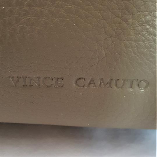 Vince Camuto Studded Silver Leather Zipper Backpack Image 3