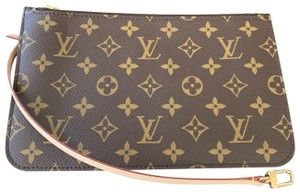 ade1c1a1631a Louis Vuitton Clutch Wallets Pouch Monogram Handbags Lv Wristlet in Brown