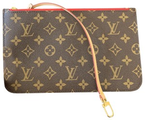 4c6b54493044 Louis Vuitton Clutch Wallets Zippy Pouch Monogram Handbags Wristlet in Brown