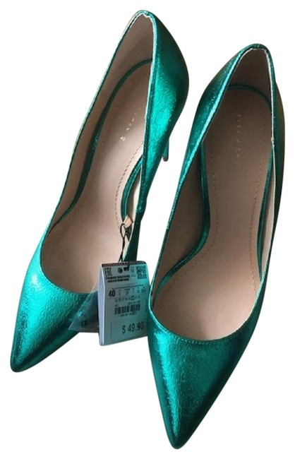 Item - Green New Formal Shoes Size EU 40 (Approx. US 10) Regular (M, B)