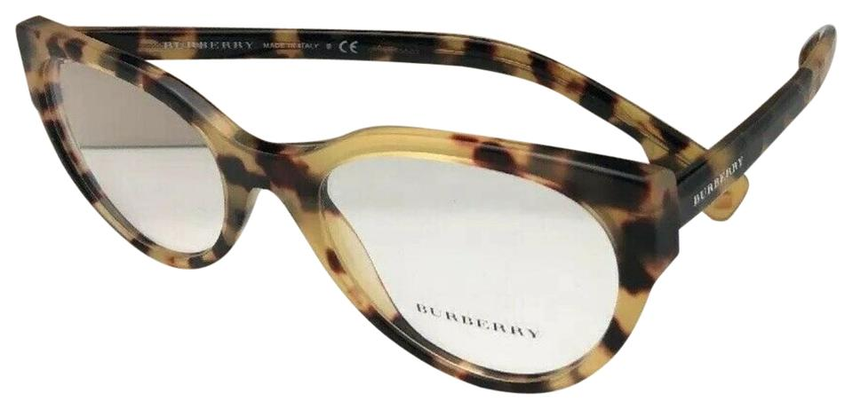 2d41d43112cd Burberry New BURBERRY Eyeglasses B 2289 3278 53-20 140 Tortoise Havana Cat  Eye Image ...