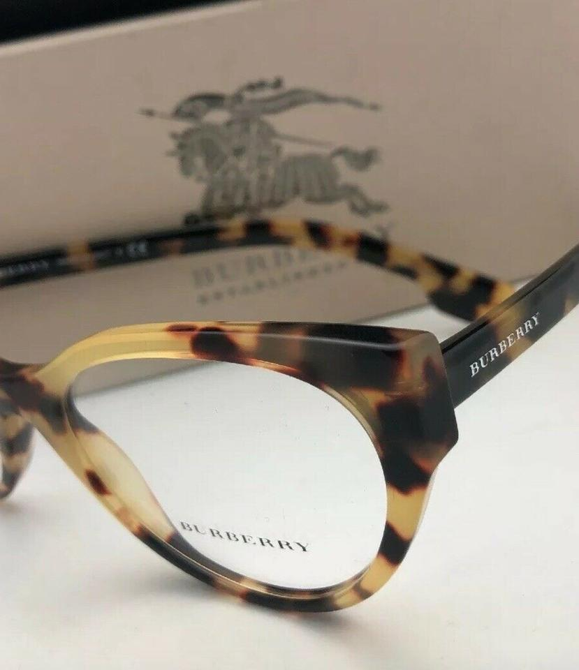a53a2081545a Burberry New B 2289 3278 53-20 140 Tortoise Havana Cat Eye Frames  Sunglasses - Tradesy