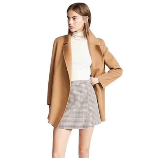 Item - Camel Tan Brown Clairene Cashmere Wool Coat Sweater Jacket Size 4 (S)