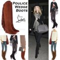 Christian Louboutin Brown Poulice Wedge Suede Boots/Booties Size EU 37 (Approx. US 7) Regular (M, B) Christian Louboutin Brown Poulice Wedge Suede Boots/Booties Size EU 37 (Approx. US 7) Regular (M, B) Image 2