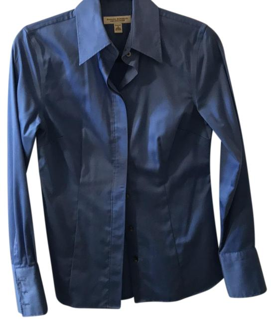 Preload https://img-static.tradesy.com/item/25092832/banana-republic-blue-fitted-shirt-button-down-top-size-4-s-0-1-650-650.jpg