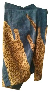 Dior Skirt Animal print and jean